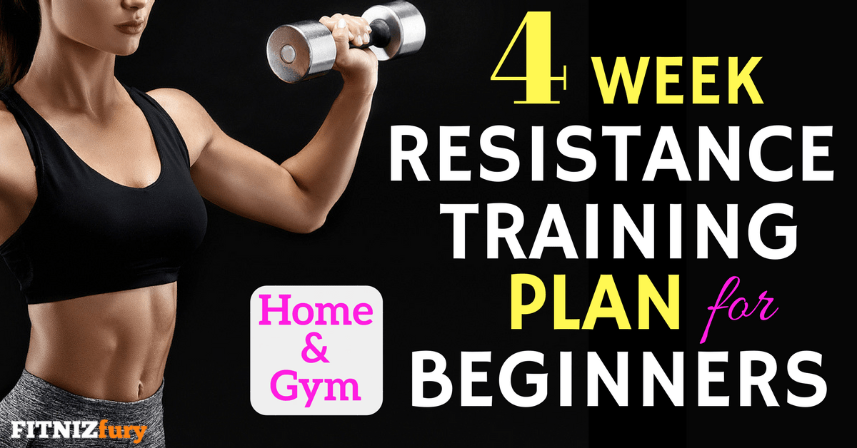 6-week Sample Weight Training Program for Your Strength Training Home  Workout Routine – by John Sifferman
